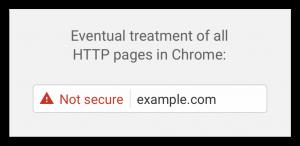 http Google Chrome site