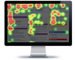 heatmap or web page